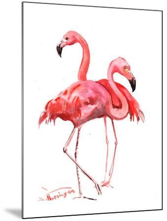 Flamingos-Suren Nersisyan-Mounted Art Print