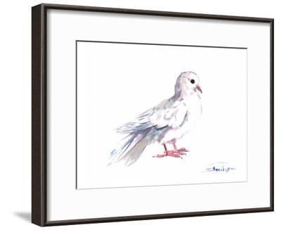 Pigeon-Suren Nersisyan-Framed Art Print