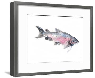 Salmon-Suren Nersisyan-Framed Art Print