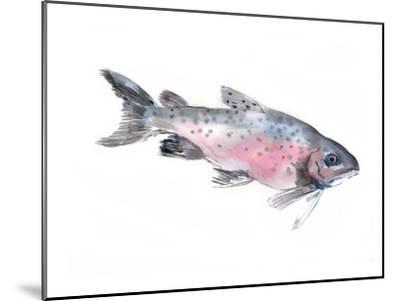 Salmon-Suren Nersisyan-Mounted Art Print