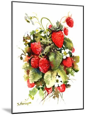 Strawberries-Suren Nersisyan-Mounted Art Print