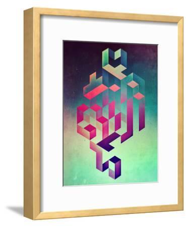 Isyhyrtt Dyymyndd Spyyre-Spires-Framed Art Print