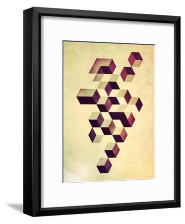 Isyzymbyyz-Spires-Framed Art Print