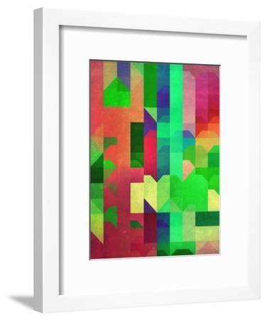 Pryncyss-Spires-Framed Art Print