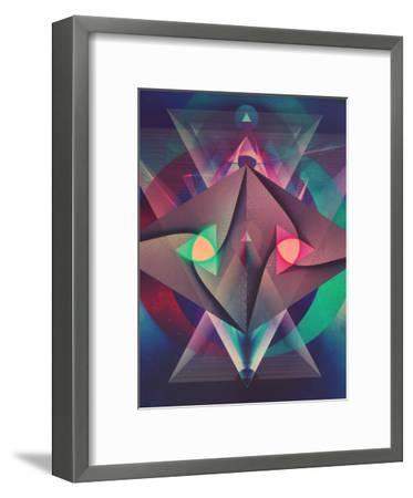 Rybwwt (Warm Alternate)-Spires-Framed Art Print