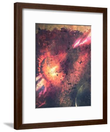 Ystyroyd-Spires-Framed Art Print