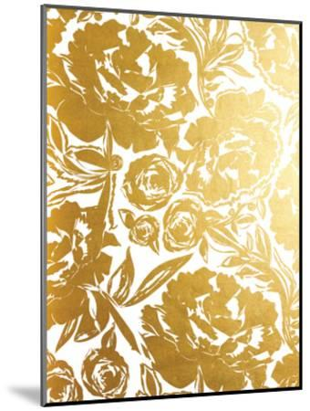 Arianna In Gold-Khristian Howell-Mounted Art Print