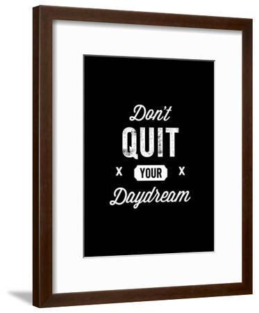 Dont Quit Your Daydream Vintage-Brett Wilson-Framed Art Print