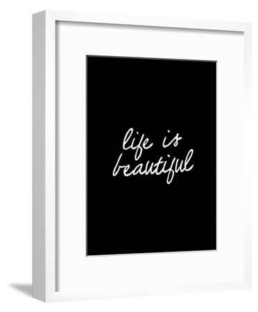 Life Is Beautiful-Brett Wilson-Framed Art Print