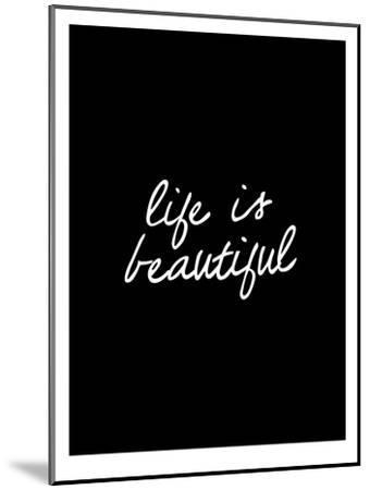 Life Is Beautiful-Brett Wilson-Mounted Art Print