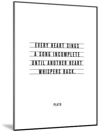 Every Heart Sings A Song Incomplete-Brett Wilson-Mounted Art Print