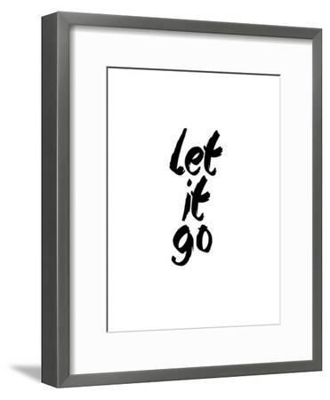 Let It Go-Brett Wilson-Framed Art Print