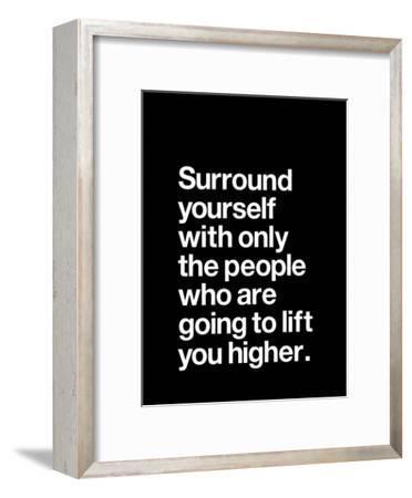 Surround Yourself-Brett Wilson-Framed Art Print