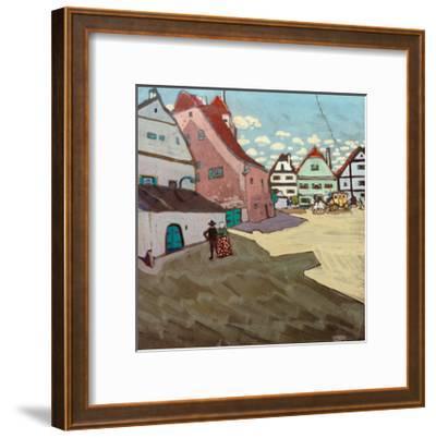 Paese, 1906-Wassily Kandinsky-Framed Giclee Print