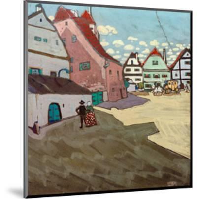 Paese, 1906-Wassily Kandinsky-Mounted Giclee Print