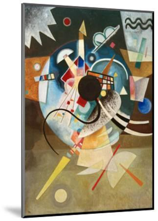 A Centre, 1924-Wassily Kandinsky-Mounted Giclee Print