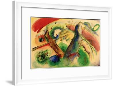 Composition E, 1916-Wassily Kandinsky-Framed Giclee Print