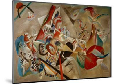 With Grey, 1919-Wassily Kandinsky-Mounted Giclee Print