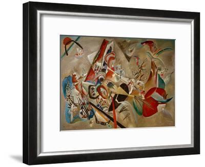 With Grey, 1919-Wassily Kandinsky-Framed Giclee Print