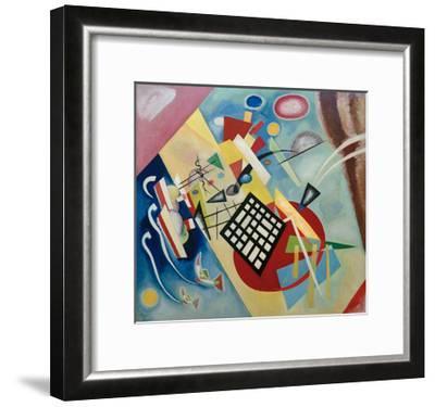 Black Raster, 1922-Wassily Kandinsky-Framed Giclee Print