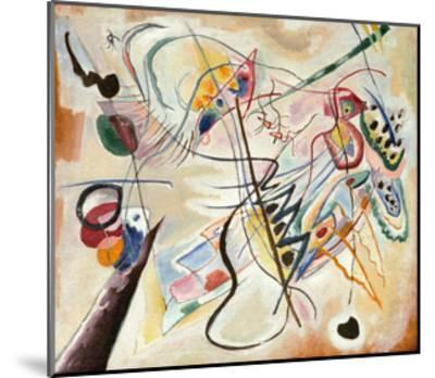 Music Overture, 2001-Wassily Kandinsky-Mounted Giclee Print