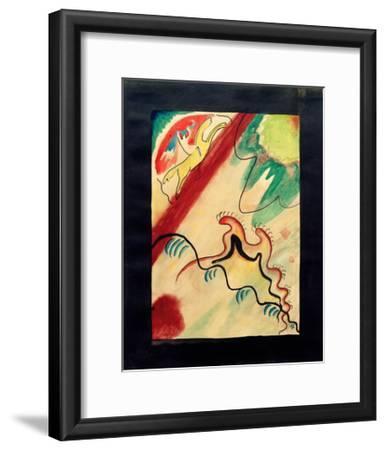 The Blue Rider, 1911-Wassily Kandinsky-Framed Giclee Print