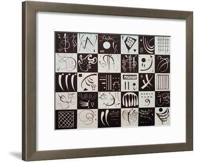 Thirty, 1937-Wassily Kandinsky-Framed Giclee Print