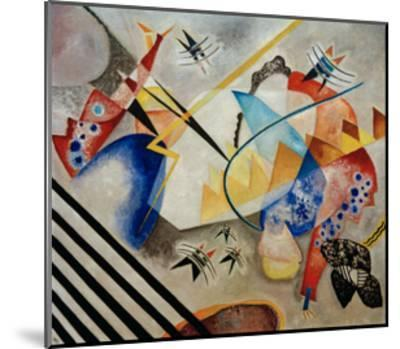 White Centre, 1921-Wassily Kandinsky-Mounted Giclee Print