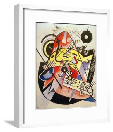 White Dot (Composition No.248) 1923-Wassily Kandinsky-Framed Giclee Print