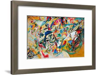 Composition VII, 1913-Wassily Kandinsky-Framed Giclee Print