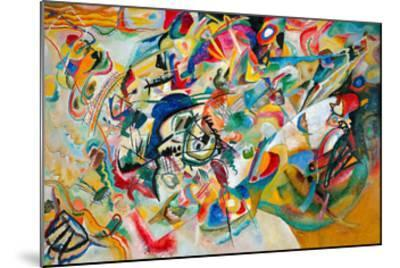 Composition VII, 1913-Wassily Kandinsky-Mounted Giclee Print