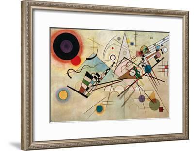 Composition VIII, 1923-Wassily Kandinsky-Framed Giclee Print
