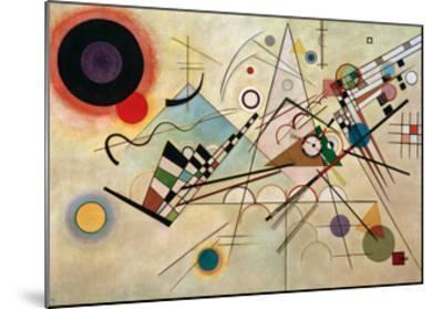Composition VIII, 1923-Wassily Kandinsky-Mounted Giclee Print