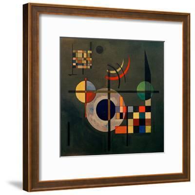 Counterweights, 1926-Wassily Kandinsky-Framed Giclee Print