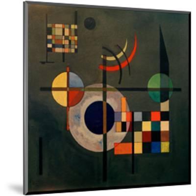Counterweights, 1926-Wassily Kandinsky-Mounted Giclee Print