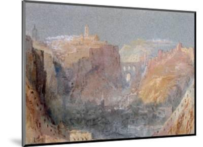 Luxembourg-J^ M^ W^ Turner-Mounted Giclee Print