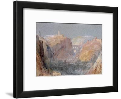 Luxembourg-J^ M^ W^ Turner-Framed Giclee Print