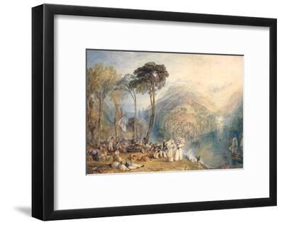 Dartmouth Cove-J^ M^ W^ Turner-Framed Giclee Print