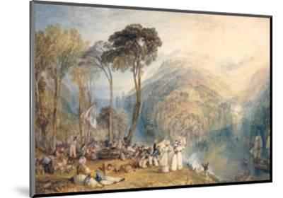Dartmouth Cove-J^ M^ W^ Turner-Mounted Giclee Print