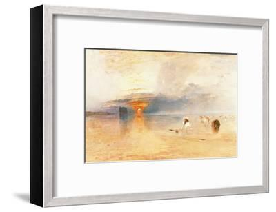 Calais Sands at Low Water, 1830-J^ M^ W^ Turner-Framed Giclee Print