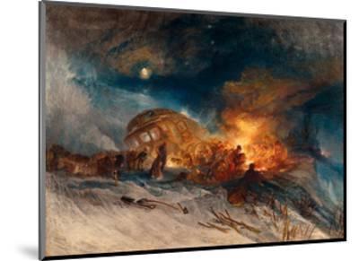 Travellers in a Snow Drift on Mount Tarrar, 1829-J^ M^ W^ Turner-Mounted Giclee Print