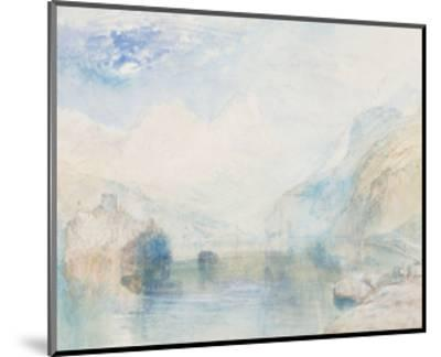 The Lauerzersee with Schwyz and the Mythen-J^ M^ W^ Turner-Mounted Giclee Print