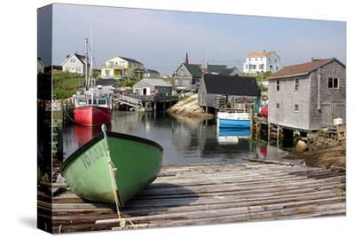 Peggy's Cove, Nova Scotia--Stretched Canvas Print