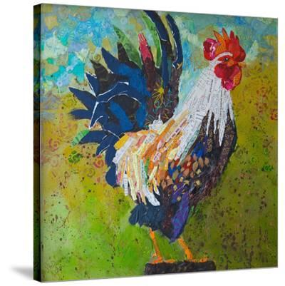 Report Card Rooster--Stretched Canvas Print