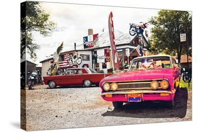 Route 66 Lot--Stretched Canvas Print