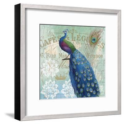 Le Plume II--Framed Art Print
