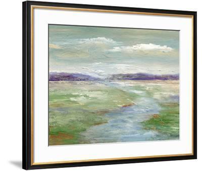 Meadow Stream I--Framed Art Print