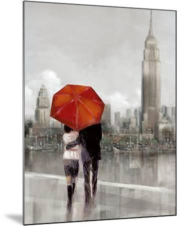 Modern Couple in New York-Ruane Manning-Mounted Art Print