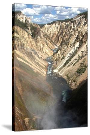 Grand Canyon Of Yellowstone--Stretched Canvas Print