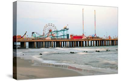 Steel Pier Atlantic City, NJ--Stretched Canvas Print